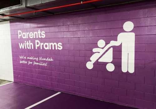 Parents with Prams Parking