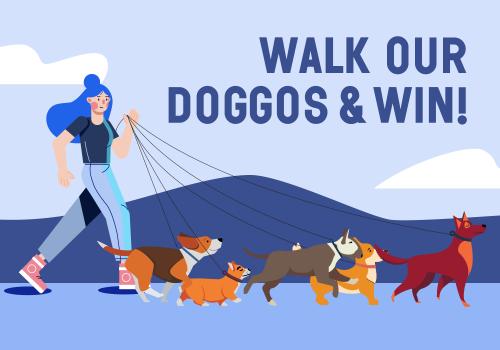 Walk our Doggos & Win